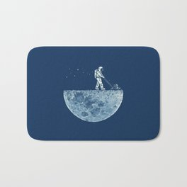 Space walk Bath Mat