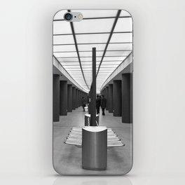 Tube Station Brandenburg Gate in Berlin iPhone Skin