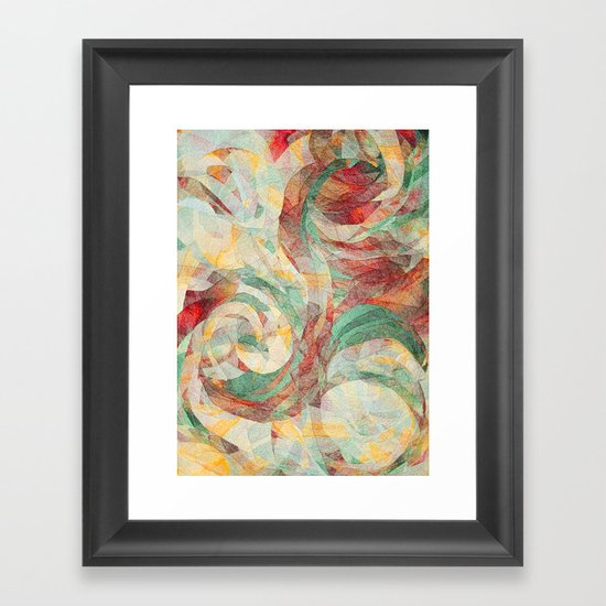 Rapt Framed Art Print