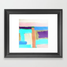 Rest (inverted) Framed Art Print