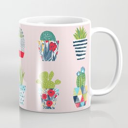Funny cacti illustration Coffee Mug