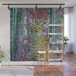 Abstract Cheetah Wall Mural
