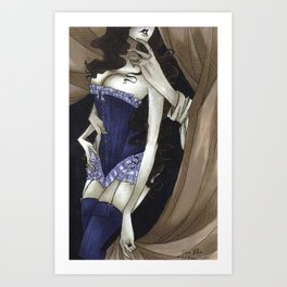 Come Hither Art Print