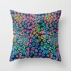 GLOW LEOPARD Throw Pillow