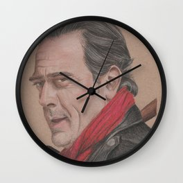 Negan from The Walking Dead Wall Clock