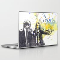 pulp Laptop & iPad Skins featuring Pulp Fiction by idillard