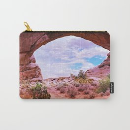 southwestern united states desert glow up tint landscape art nature photography Carry-All Pouch