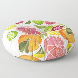 All the Citrus Floor Pillow