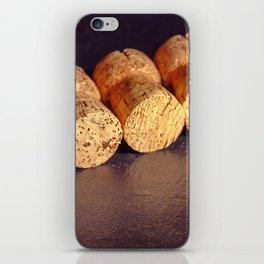 An amateur cork collection iPhone Skin