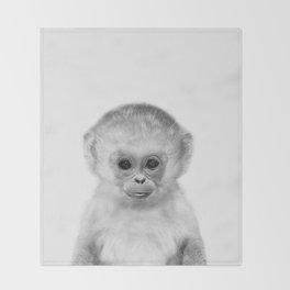 Baby Monkey Throw Blanket