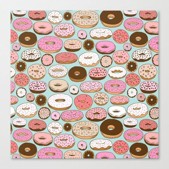 Donut Wonderland Canvas Print