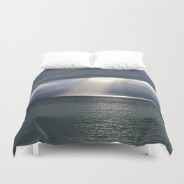 Alaskan light Duvet Cover