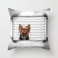 GUILTY! Throw Pillow