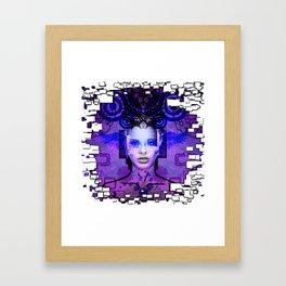 I'm Beautiful Framed Art Print
