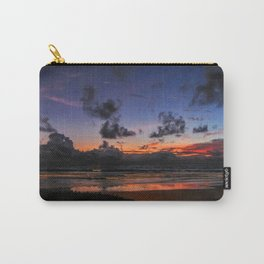 Beach Sunset - Painted Effect Carry-All Pouch