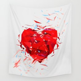 Fragile Heart Wall Tapestry