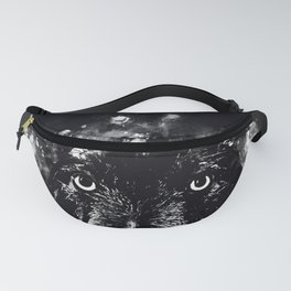 wire haired dachshund dog wsbw Fanny Pack
