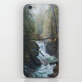 Little Qualicum Falls iPhone Skin