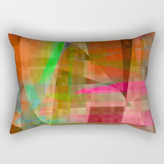 not a lot Rectangular Pillow