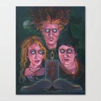 hocus pocus Canvas Prints featuring Hocus Pocus by Todd Spence