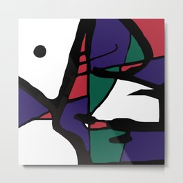 Abstract Painting Design - 7 Metal Print