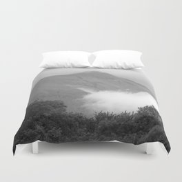 Mountain in the Clouds Duvet Cover