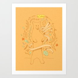 Bears Know Best Art Print