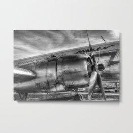 Malev Ilyushin IL-14 Metal Print