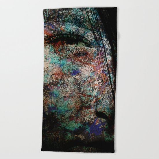 Coralreef People Beach Towel