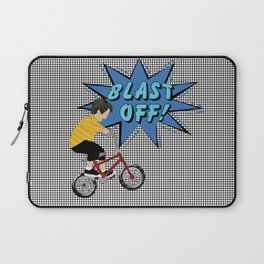 Pop a Wheelie Laptop Sleeve