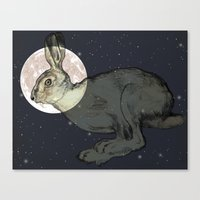 interstellar Canvas Prints featuring Interstellar by Shany Atzmon
