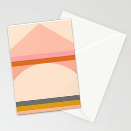 Abstraction_Mountains_Landscape_Minimalism_003 Stationery Cards