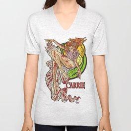 Carrie Unisex V-Neck