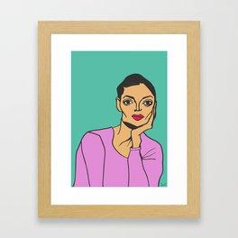 Elisabeth Framed Art Print