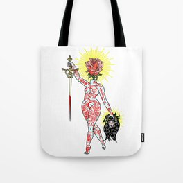 You Are Your Own Worst Enemy Tote Bag