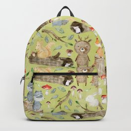 Woodland Animals In Forest Backpack