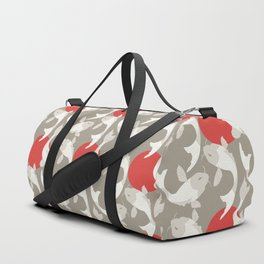 Koi fish pattern 002 Duffle Bag