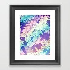 Happy Aloha Rainbow Framed Art Print
