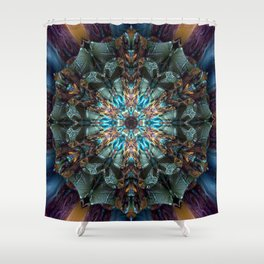 Mandala of aristocracy Shower Curtain