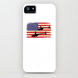 R44 Helicopter Heli Pilot Aviation Helo iPhone Case