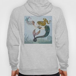 Jellyfish and Mermaid Hoody