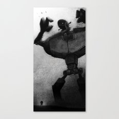 Attack of the Humongous Angry Monsters Canvas Print