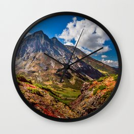 Autumn colors of the old Volсano Wall Clock