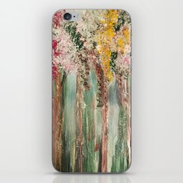 Woods in Spring iPhone Skin