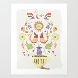Breakfast Nook Wall Art–Light Art Print