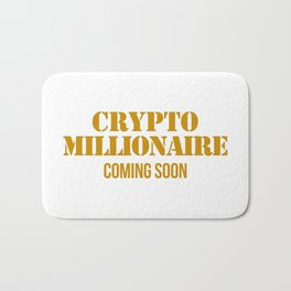 CRYPTO MILLIONAIRE Bath Mat