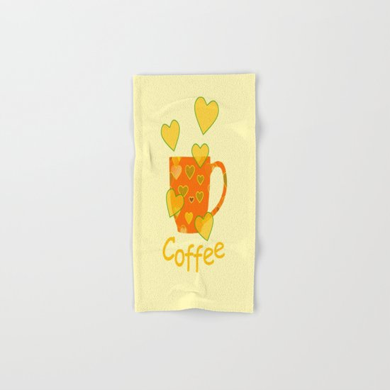 Coffee Fanatic Hand & Bath Towel