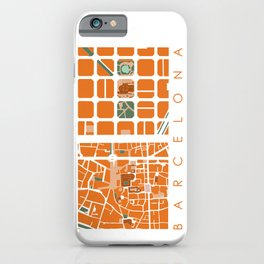 Fagmentos III Barcelona iPhone Case