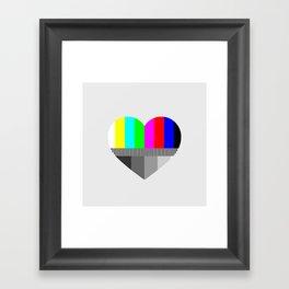 A Test of Love Framed Art Print