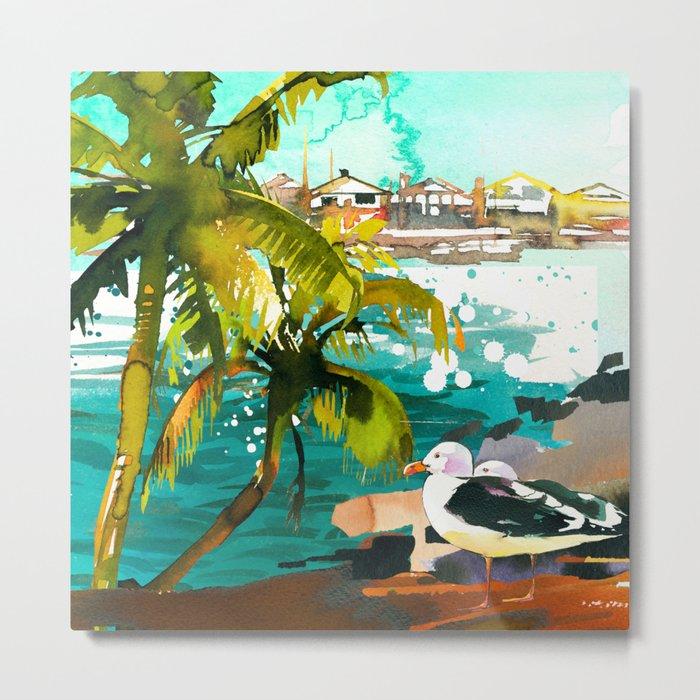 Seascape #5 Metal Print
